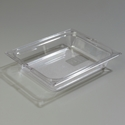 "1/2 Size x 2.5"" Food Pan, Clear"