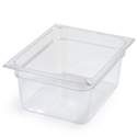 "1/2 Size x 6"" Food Pan, Clear"