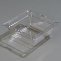 "1/6 Size x 2.5"" Food Pan, Clear"