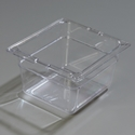 "1/6 Size x 4"" Food Pan, Clear"