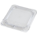 1/6 Size Solid Flat Lid, Clear