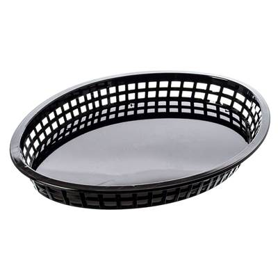 "12 3/4""  Platter Basket, Black"