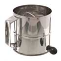 Rotary Flour Sifter, 8 cups, 6