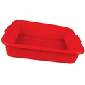 21 1/4x15 3/4x5 Red Bus Tub