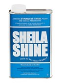 Sheila Shine Polish, 1 quart can