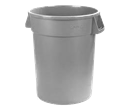 10 gal Trash Container Grey
