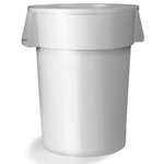 20 gal Trash Container White