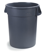 32 gal Trash Container Grey