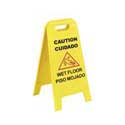 "25"" Wet Floor Sign w/Locking Handle"