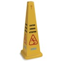 "36"" Safety Cone Floor Sign"