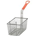 "12"" Fry Basket, Orange Handle"