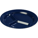 "11"" 3 Comp Plate Cafe Blue"