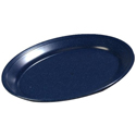 "12"" Oval Platter Cafe Blue"