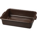 15 x 20 x 5 Bus Tub Brown