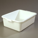 "Bus Tub, 20""L x 15""W x 7""H, White"