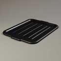 "Bus Tub lid, 20""L x 15""W x 3/4""H, Black"