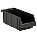 Black Cutlery Box / Condiment Organizer Bin