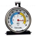 "Refrigerator/Freezer Thermometer, 3 1/4"" dial face"