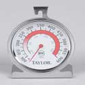 "Oven Thermometer, dial, 3 1/4"" dial face"