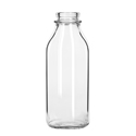 33.5oz Milk Bottle, Glass
