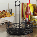 Condiment Caddy , Black