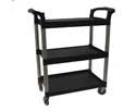 Service/Bus Cart, Black, 300 lb