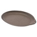 "9-1/2"" Cast Iron Skillet, oval"