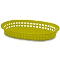 "10.5"" Oval Basket Yellow"