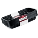 "11.75"" Rectangular Basket Black"