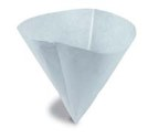 "10"" Filter Paper Cone *50/bx*"