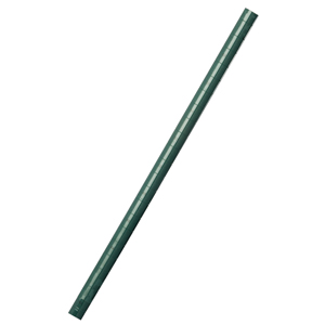 "Post, 33""H, stationary, green"