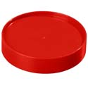 "Store 'N Pour Cap, Red, 3/4""H x 3  1/2"" dia."