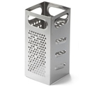 "Grater, 4"" x 4"" x 9"", square"