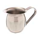 "3 oz. Bell Creamer, 2""H, stainless steel, mirror finish"