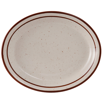 "11-1/2"" Platter Bahamas Brown Speckle"