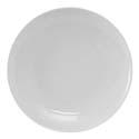 "10 1/4"" Florence Plate White"